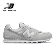 【NEW BALANCE】NB 復古鞋_女鞋_淺灰_WL996CLA-D楦 緩震 支撐 麂皮 網布 運動 潮流 休閒
