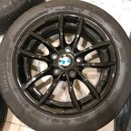 Bmw F20 原廠16吋亮黑鋁圈