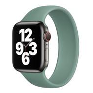 โปรโมชั่น สาย  watch สำหรับ watch6วงแหวนเดียวยืดหยุ่นยืดไสลด์iwatchนาฬิกา5/SE/4/3S ซิลิโคนนุ่มSeries5ยืดไม่มีปุ่ม38 ราคาถูก สายนาฬิกา applewatch