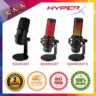 [Ready Stock] HYPERX QUADCAST QUADCAST S Condenser Gaming & Streaming Microphone (HX-MICQC-BK) HyperX SoloCast