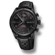 領卷享優惠】Oris 豪利時 0177876617784-SetLS Audi Sport 鈦限量賽車聯名計時腕錶 黑 44mm