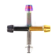Titanium Alloy Bicycle Titanium Tapered Head Bolt Screw With Washer For Mountain Bike