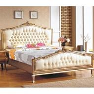 羅登6尺法式香檳色雙人床
