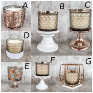 Bath And Body Works 3 Wick Candle Holder | [SALE] Bath and Body Works 3 wick Candle Holder