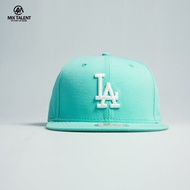 NEW ERA MLB 洛杉磯道奇 後扣棒球帽 淺藍/白 9FIFTY 限量訂製帽 【MIX TALENT】