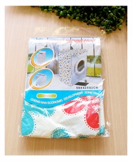 【aife life】花樣洗衣機防塵套(B版)/滾筒式洗衣機防曬罩/前開式洗衣機保護防水罩/創意居家樂活布置