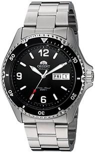 (Orient) Orient Men s FAA02001B9 Mako II Analog Automatic Hand-Winding Silver Watch-FAA02001B9