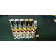 百靈油 方形10ml鋼珠滾珠瓶子  分裝空瓶