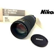 老機師 單眼相機 鏡頭 nikon 80 200mm f2.8 ed af ais 恆定光圈