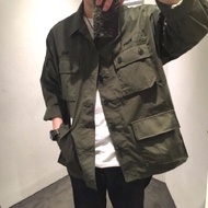 18SS Wtaps Jungle LS Shirt Copo Weather 四袋軍襯 長袖襯衫 軍綠 外套 buds