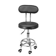 เก้าอี้เสริมสวยเก้าอี้หมุนพนักพิง Hairdressing ตัดผม Beauty Hydraulic Lift AU สีดำ