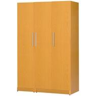 【C967-12】塑鋼衣櫃(B-275)(木紋色)