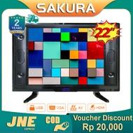 Weyon Sakura TV LED 22/24 inch HD Ready Televisi Murah (TCLG-SA22/24G)