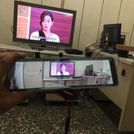 (柚子車舖) ZINGER 全屏 電子數位後視鏡 觸碰式 前後行車紀錄器 可到府安裝