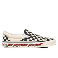 VANS X FAST TIME 男女 SLIP-ON 98 DX 黑米白【A-KAY0】【VN0A3JEXWVP】