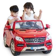 麗嬰兒童玩具館~正統超大賓士-雙人電動車.雙驅雙座椅 兒童電動車 遙控電動車