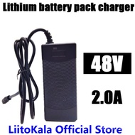 HK LiitoKala 48V 2A charger 13S 18650 battery pack charger 54.6v 2a constant current constant pressu