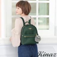 【KINAZ】樂天星球兩用後背包-森林綠-外星大目系列