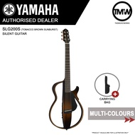 READY STOCKS - Yamaha SLG200S Silent Guitar Acoustic Guitar with Durable Carrying Bag - Super-compact Ultra-quiet performance - Absolute Piano - The Music Works Store GA1