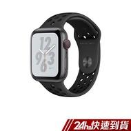 AppleWatch Nike+ S4 LTE 40mm太空灰鋁金屬錶殼搭Anthracite配黑色Nike運動型錶帶