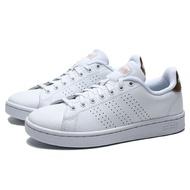 ADIDAS ADVANTAGE 小白鞋 基本款 古銅金 洞洞 學生 運動 休閒鞋 女 (布魯克林) F36223