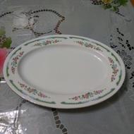 早期大同瓷器第一批橢圓盤