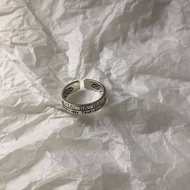 {Ready Stock}cincin couple anniversary gift cincin silver perempuan rings adjustable ring cincin silver 925 original cou