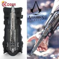COSER KING Assassin's Creed 6 พลาสติก figure Crutches Syndicate พลาสติก COSPLAY1:1 Arms อาวุธ Sleeve Arrow Staff Uncut Garage Kit ฟิกเกอร์ ของเล่น แขนยาวลูกศรพนักงานโรงรถ