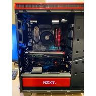 電競主機(RX480 8G/AMD R5-1600/16G RAM/256G SSD)