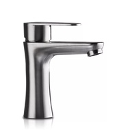Bathroom basin faucet 304 stainless steel hot and cold  Basin faucet
