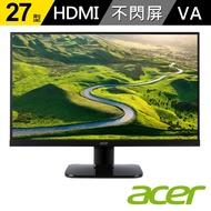 acer|KA270H A 27型 VA不閃頻 濾藍光 螢幕