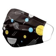 善存醫用口罩   優美特成人平面 繽紛交響 25入 未滅菌 雙鋼印