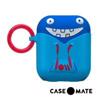 【CASE-MATE】AirPods 可愛怪物保護套(有點白爛的崔基-藍)