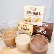 ♛✓┇  พร้อมส่ง‼️ ทดลอง 1 กล่อง Bio Cocoa mix khunchan ไบโอ โกโก้มิกซ์ โกโก้ดีท็อก ไบโอกาแฟ ไบโอชามอล