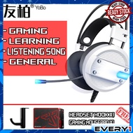 YOBO A10 Pro In Gaming Headset Headphones Earphone with Mic for Laptop/PC with LED light