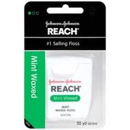 (2入) J & J REACH含蠟牙線【薄荷】50.2m