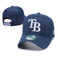 坦帕灣光芒MLB球隊棒球帽 時尚潮帽 潮男潮女帽子 休閒百搭 可調節