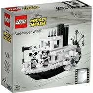 [人形町] 樂高 Lego 21317 IDEAS 米奇蒸汽船 威力號