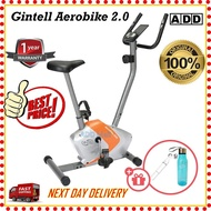 GINTELL Fitness Aerobike 2.0 Cycling Gym Fitness Spin Bike (With Free Gift)