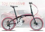 Hito X4 Foldable Bicycle Shimano Gear