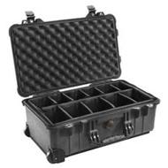 美國 PELICAN 1514 氣密箱(含隔層/黑色)