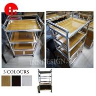 Aluminium Rack kitchen rack in 3 colours
