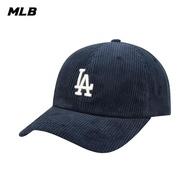 【MLB】燈芯絨棒球帽 N-COVER系列 洛杉磯道奇隊 可調整式 帽子(32CPYE011-07N)