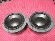 【鹿港】丹麥 Dynaudio MW162 *6.5吋* 中低音 單體喇叭 (一對) *USHER KEF 可參考*