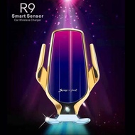 微繡坊【正品魔夾R9】全自動感應S5車載無線充電通用手機支架風口