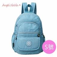 水洗布後背包-韓防水 防潑水 超輕量 簡約雙肩包-S號【BA0198】AngelNaNa
