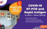 [IN-CLINIC AND HOME TEST] Angeles/Clark Pampanga COVID-19 RT-PCR and Rapid Antigen Testing