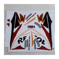 HONDA REPSOL (1) FOR WAVE DASH110 BODY STICKER