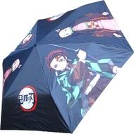 【TDL】鬼滅之刃抗UV雨傘折傘短傘晴雨兼用 261958