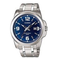 Casio นาฬิกาผู้ชาย สีเงิน สายสแตนเลส รุ่น MTP-1314D-2AVDF